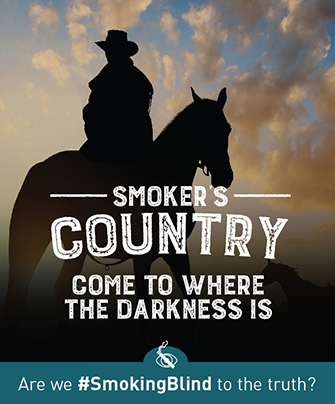 Smoker's Country, come to where the darkness is.